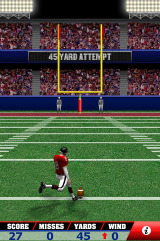 Field Goal Frenzy Classic Arcade Field Goal Kicking Game