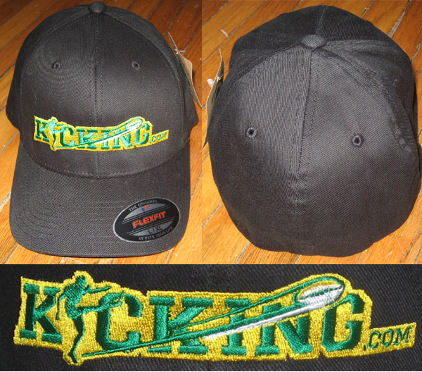 Hat - Black Organic Yupoong Flexfit