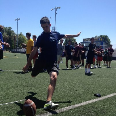 ZACHARY BINGER Kicking.com photo